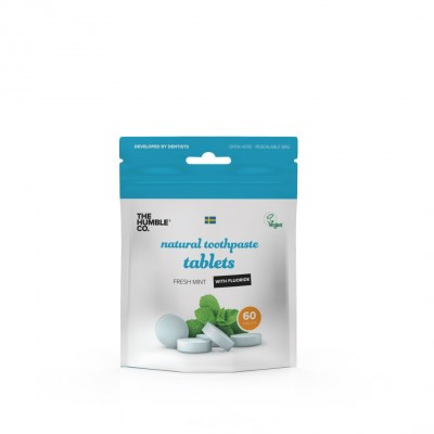 The Humble Co. Toothpaste Tablets with Fluoride 60 stk
