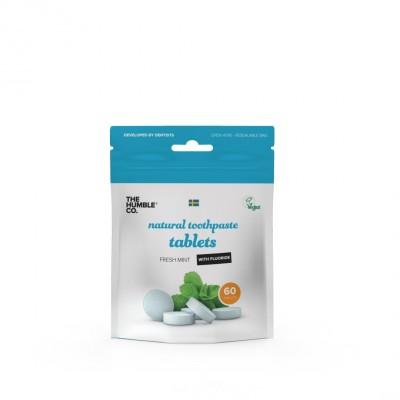 The Humble Co. hampaanpesutabletit fluorilla 60 kpl