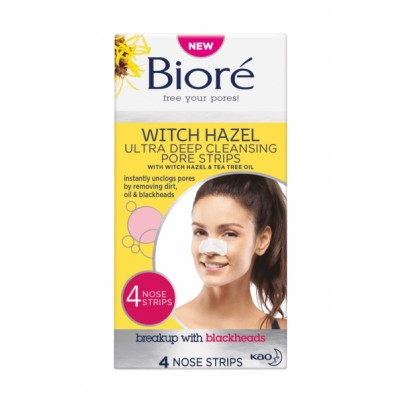 Bioré Witch Hazel Nose Strips 4 kpl