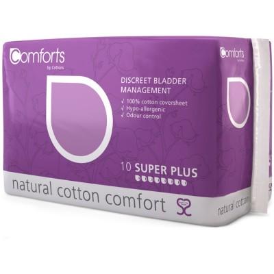 Cottons Discreet Super Plus Pads 10 stk
