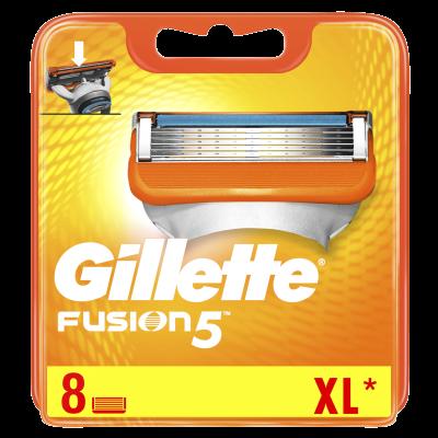 Gillette Fusion 5 Razor Blades 8 stk