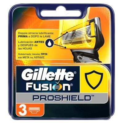 Gillette Fusion Proshield Razorblades 3 pcs