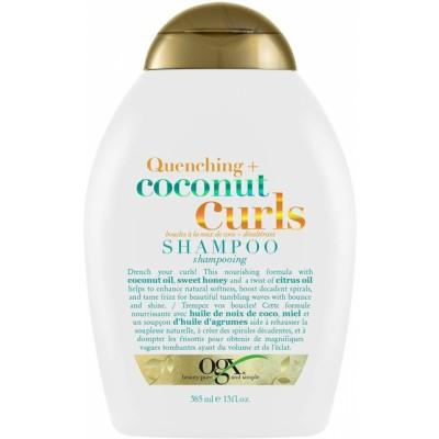 OGX Quenching+ Coconut Curls Shampoo 385 ml