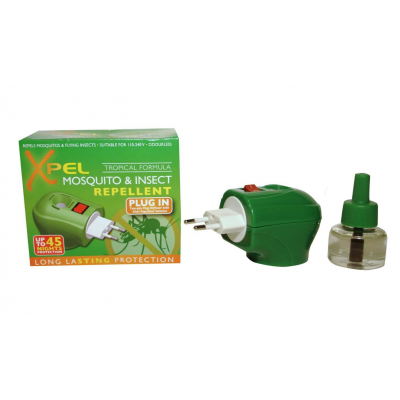 Xpel Mosquito & Insect Relief Plug-In 1 kpl + 35 ml