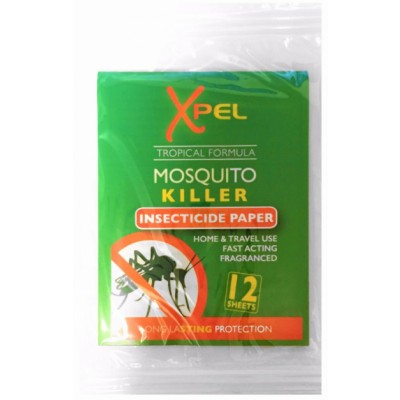 Xpel Mosquito Killer Insecticide Paper 12 pcs