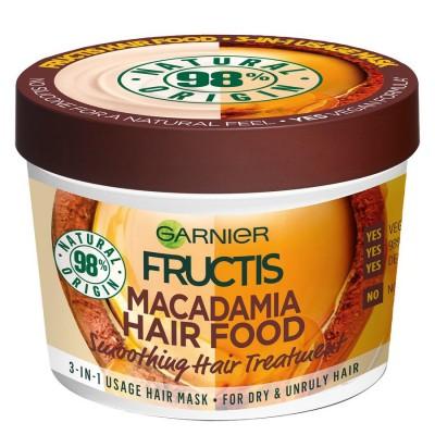 Garnier Fructis Hair Food Macadamia Hair Mask 390 ml