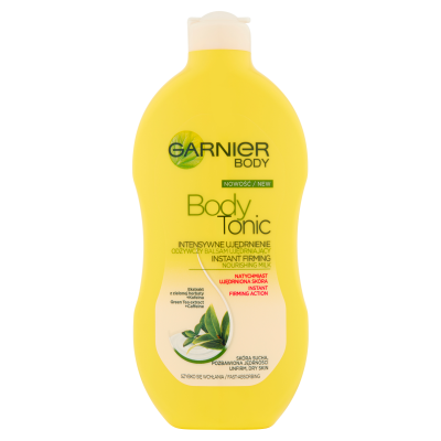 Garnier Body Tonic Instant Firming Nourishing Milk Unfirm Dry Skin 400 ml