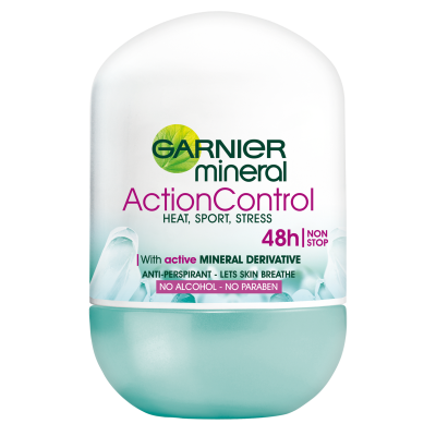 Garnier Mineral Active Control Stress 48h Roll-On Deo 50 ml