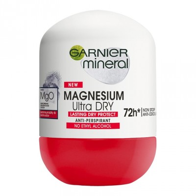 Garnier Mineral Magnesium Ultra Dry 72h Roll-On Deo 50 ml