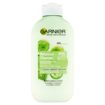 Garnier Naturals Botanical Grape Extract Refreshing Cleansing Milk 200 ml