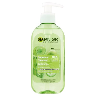 Garnier Naturals Botanical Grape Extract Refreshing & Cleansing Face Wash 200 ml