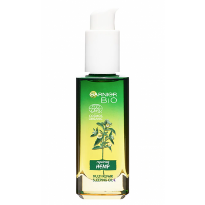 Garnier Bio Verzachtende Hennep Nachtolie 30 ml