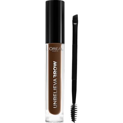 L'Oreal Unbelieva Brow Eyebrow Gel 108 Dark Brunette 3,4 ml + 1 stk