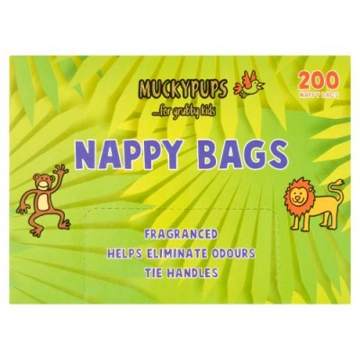Quest Muckypups Nappy Bags 200 stk
