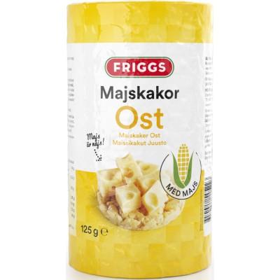 Friggs Majskiks Ost 125 g