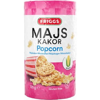 Friggs Majskiks Popcorn 125 g