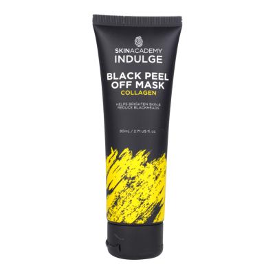 Skin Academy Indulge Black Peel Off Mask Collagen 80 ml