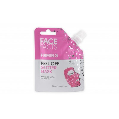 Face Facts Firming Glitter Peel Off Mask Pink 60 ml