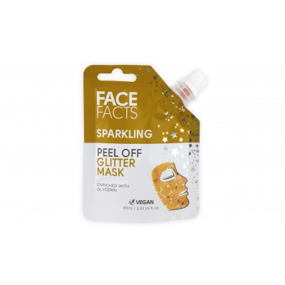 Face Facts Sparkling Glitter Peel Off Mask Gold 60 ml