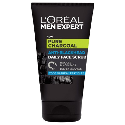 L'Oreal Men Expert Pure Charcoal Anti-Blackhead Scrub 100 ml