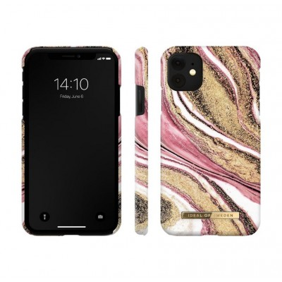 iDeal Of Sweden Fashion Case iPhone 11 Cosmic Pink Swirl iPhone 11