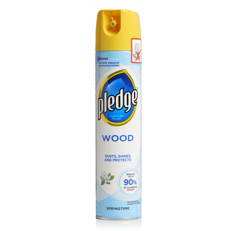 Pledge Wood Furniture Spray Springtime 250 Ml