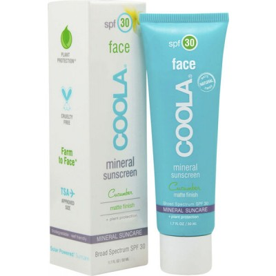 Coola Mineral Face SPF 30 Matte Cucumber 50 ml