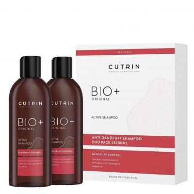 Cutrin Bio+ Original Active Dandruff Shampoo 2 x 200 ml