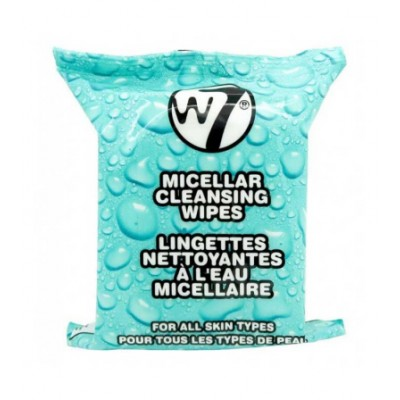 W7 Micellar Cleansing Wipes 25 kpl
