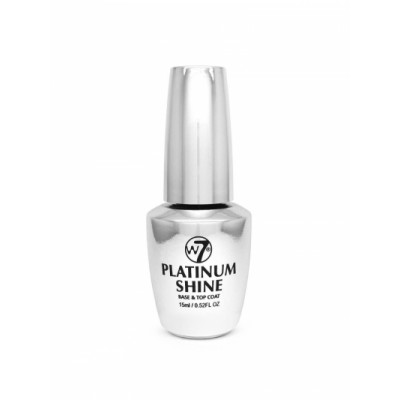 W7 Nail Treatment Platinum Shine Base & Top Coat 15 ml
