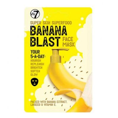 W7 Super Skin Superfood Banana Blast Face Mask 18 g