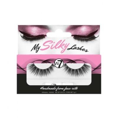 W7 My Silky Lashes SL34 1 par + 1 g