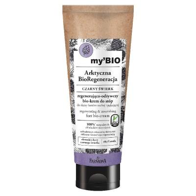Farmona My'BIO Black Spruce Regenerating & Nourishing Feet Bio-Cream 100 ml