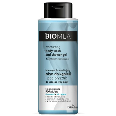 Farmona Biomea Moisturizing Body Wash & Shower Gel 500 ml
