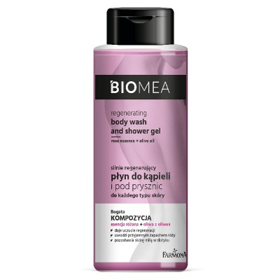 Farmona Biomea Regenerating Body Wash & Shower Gel 500 ml