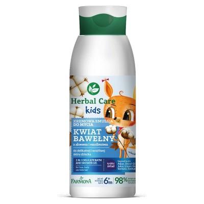 Herbal Care Kids Creamy Washing Emulsion 400 ml