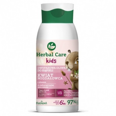 Herbal Care Kids Two-Phase Bath Oil 300 ml