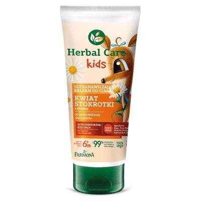 Herbal Care Kids Ultra-Moisturizing Body Balm 200 ml
