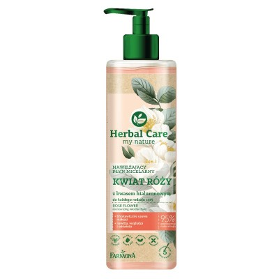Herbal Care Rose Flower Moisturizing Micellar Water 400 ml