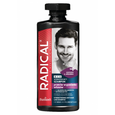Radical Men Strengthening Anti-Hair Loss Shampoo 400 ml