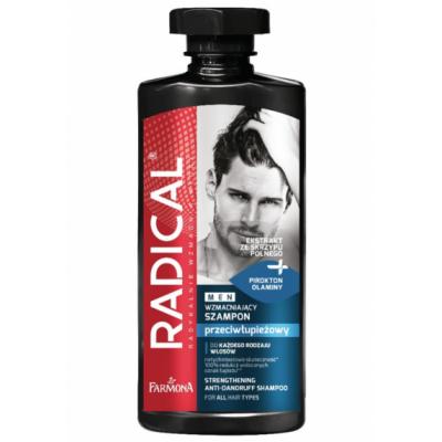 Radical Men Strengthening Anti-Dandruff Shampoo 400 ml