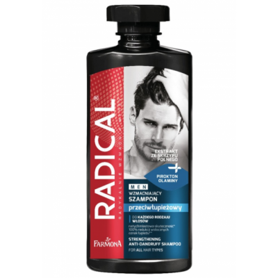 Radical Men Strengthening Anti-Dandruff Shampoo 400 ml