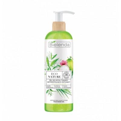 Bielenda Eco Nature Face Wash Coconut Water & Green Tea & Lemon Grass 200 g