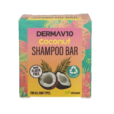 DermaV10 Coconut Shampoo Bar 50 g