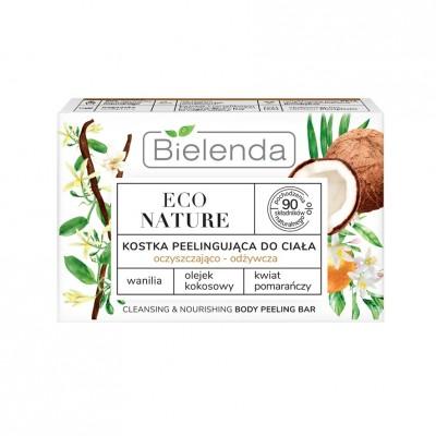 Bielenda Eco Nature Peeling Cube Vanilla Milk & Coconut Milk & Orange Blossom 80 g