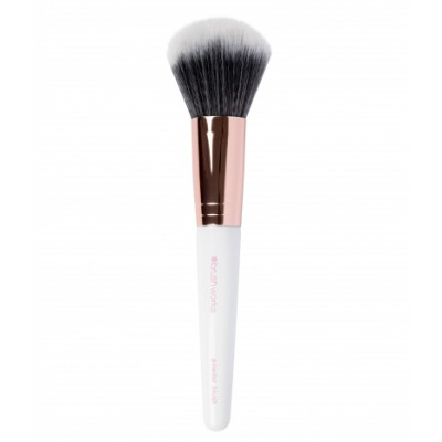 Brush Works White & Gold Powder Brush 1 kpl