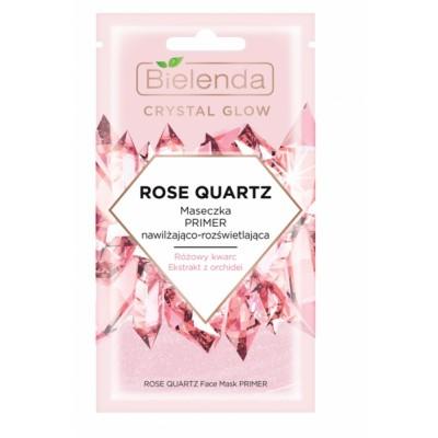 Bielenda Crystal Glow Rose Quartz Face Mask Primer 8 g