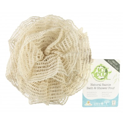 So Eco Natural Ramie Bath & Shower Pouf 1 kpl