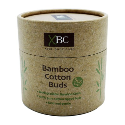 XBC Biodegradable Bamboo Cotton Buds 300 pcs