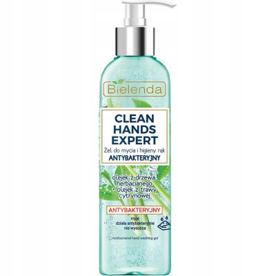 Bielenda Hands Expert Hand Washing Gel Antibakterial 200 ml